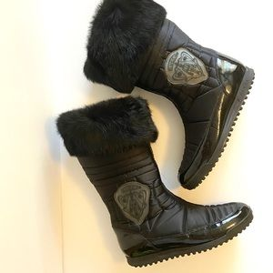 GUCCI | Black Apres Ski Quilted Boot